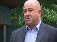 Alan Flack, IBM's Wimbledon executiv
