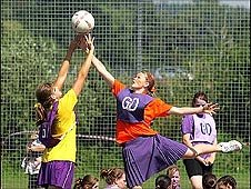 Youth games: netball