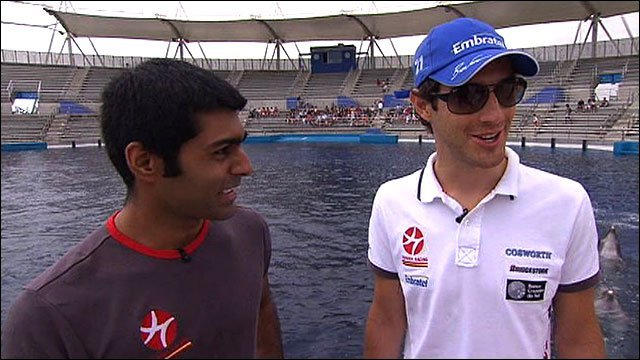 Karun Chandhok and Bruno Senna