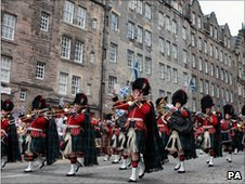 Armed Forces day in Edinburgh