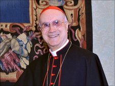 Vatican secretary of State Cardinal Tarcisio Bertone