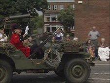 Parade in Carrickfergus