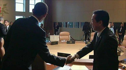 G8 meeting