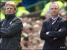 Gordon Strachan and Alex McLeish
