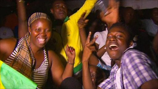 World Cup celebrations in Ghana