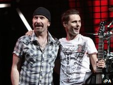 The Edge and Matt Bellamy