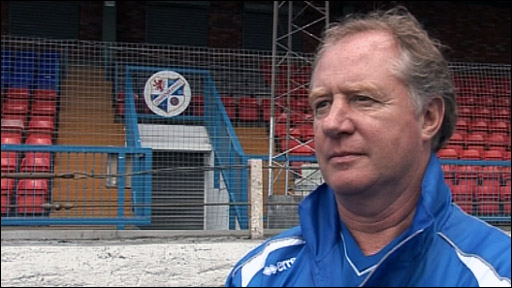 Cowdenbeath manager Jimmy Nicholl