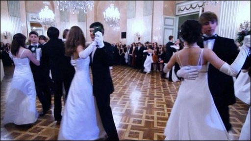 Austria's teenage ballroom dancers