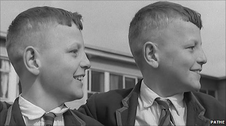 Do you recognise this pair of Belper School twins?