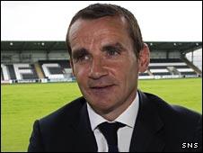 Cowdenbeath manager Danny Lennon