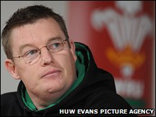 Wales Women's coach Jason Lewis