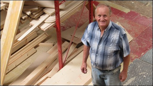 Harry Murray of HMS Joinery Ltd