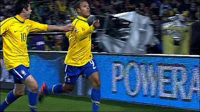 Brazil's Luis Fabiano