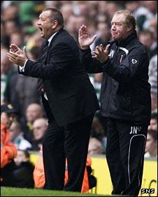Jimmy Calderwood and Jimmy Nicholl