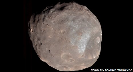Phobos (Nasa/JPL-Caltech/University of Arizona)