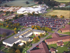 Aerial view of RAF Cosford