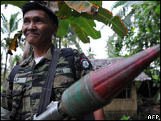 Moro Islamic Liberation Front fighter
