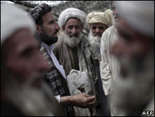 Tribal elders in Marjah, Afghanistan
