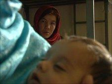 Women inside Kabul's jail