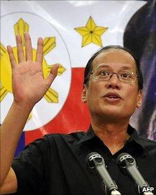 Benigno Aquino in Manila (29 June 2010)