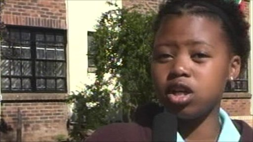South African school reporter