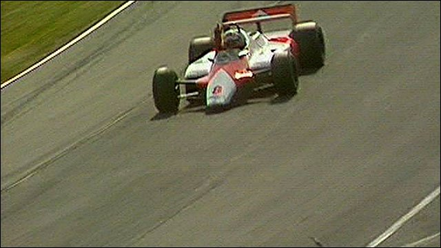 Niki Lauda wins the 1982 British Grand Prix