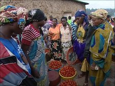 Market in Rwanda