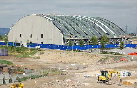 Royal Opera House Production Park in Purfleet
