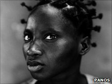 Lucy Lusumba, house wife in DR Congo, taken by photographer Stephan Vanfleteren
