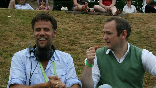 Richard Bacon and Alexander Armstrong