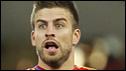 Spain defender Gerard Pique