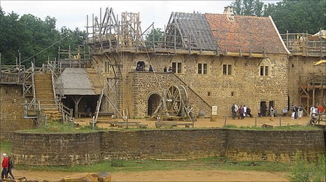 The Chateau de Guedelon