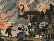 Great Fire painting, 1754