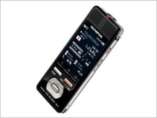Photo of the Olympus DM5 dictaphone