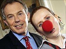 Blair and Catherine Tate