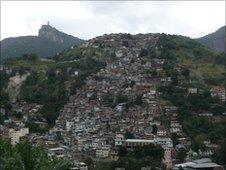 Shantytown in Rio de Janeiro