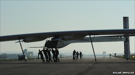 The HB-SIA aeroplane (Solar Impulse)