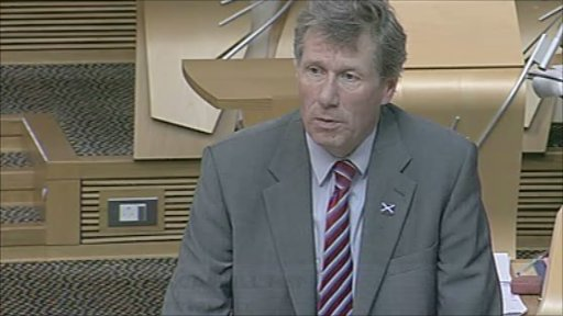 Justice Secretary Kenny MacAskill moves amendments to the Criminal Justice and Licensing Bill