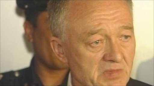 Ken Livingstone was in Singapore for Olympic bid announcement