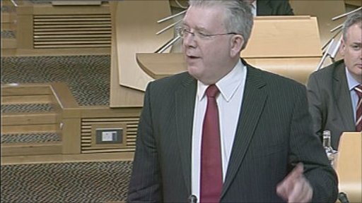 Education Secretary Michael Russell gives a ministerial statement on the Gathering