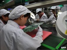 Shenzen factory workers