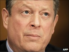 File photograph of Al Gore