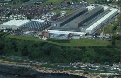 FG Wilson factory in Larne