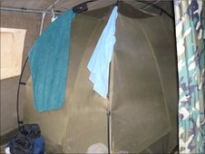 Tent with mosquito net