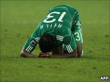 Nigerian footballer Yussuf Ayila