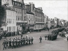 German Forces in St Peter Port
