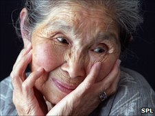 Elderly woman (SPL)