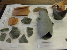Roman findings