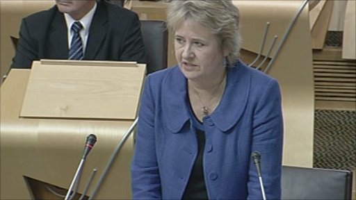 Environment minister Roseanna Cunningham  leads a debate on the Crofting Reform Bill