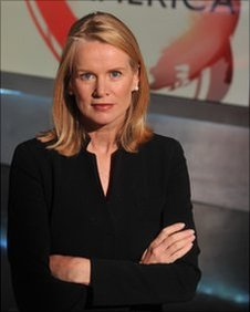 Katty Kay in the Washington studio